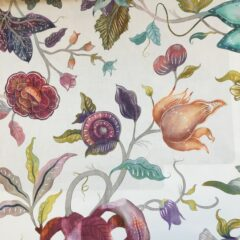 Delilah Summer Curtain Fabric