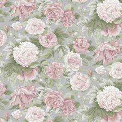 Anjou Rose Curtain Fabric