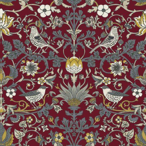 Audley Claret fabric