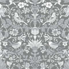 Audley Dove Curtain Fabric