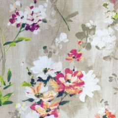 Blossom Plum Curtain Fabric