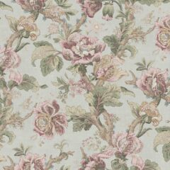Cheverny Rose Curtain Fabric