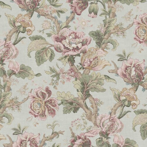 Cheverny Rose fabric