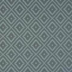 Damara Aqua Curtain Fabric