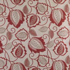 Esme Red Curtain Fabric