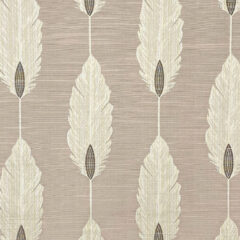 Feather Blush Curtain Fabric