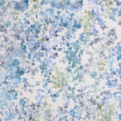 Floret Ocean Curtain Fabric