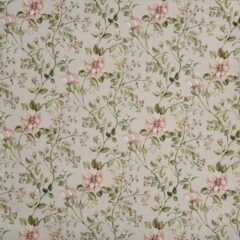 Fragrant Peach Blossom Curtain Fabric