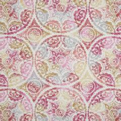 Fusion Rose Curtain Fabric