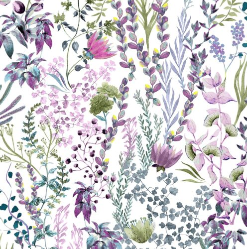 Freya Fuchsia fabric