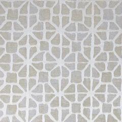 Gaia Beige Curtain Fabric