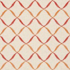 Gina Spice Curtain Fabric
