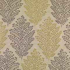 Jessie Aubergine Curtain Fabric