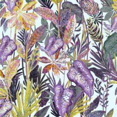 Kew Tropical Curtain Fabric