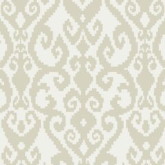 Malika Ivory Curtain Fabric