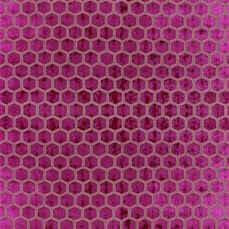 Manipur Fuchsia fabric