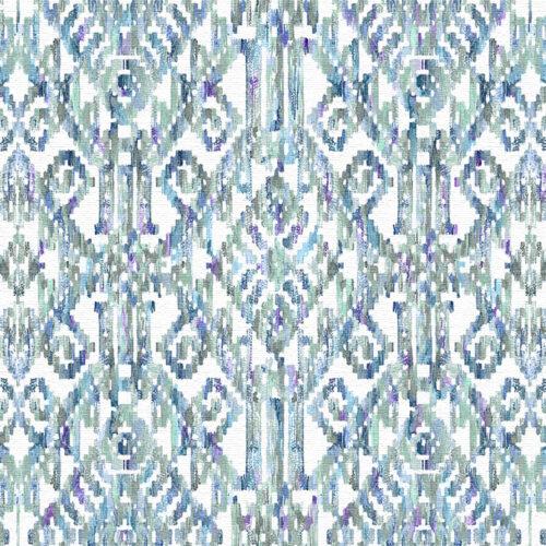 Marrakesh Aqua fabric