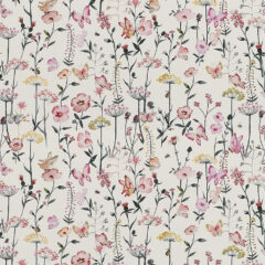 Meadowsweet Mallow Curtain Fabric