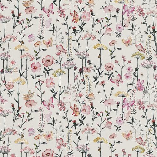 Meadowsweet Mallow fabric