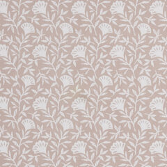 Melby Blush Curtain Fabric