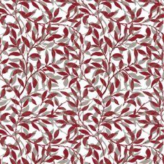 Petworth Claret Curtain Fabric