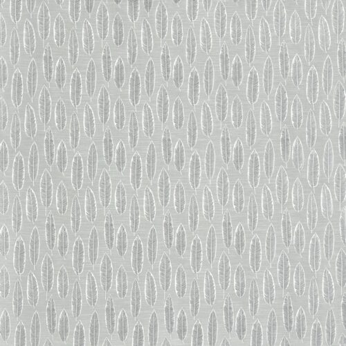 Quill Silver fabric