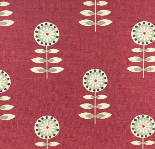 Rushock Raspberry fabric