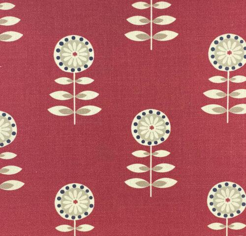 Rushock Raspberry fabric