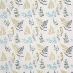 Sprig Lemon Grass Curtain Fabric