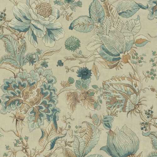 Sissinghurst Eau de Nil fabric