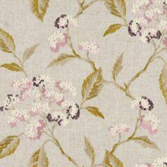 Summerby Damson  Curtain Fabric