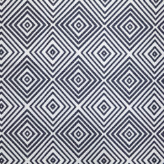Britta Midnight Curtain Fabric