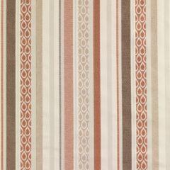 Freya Terracotta Curtain Fabric