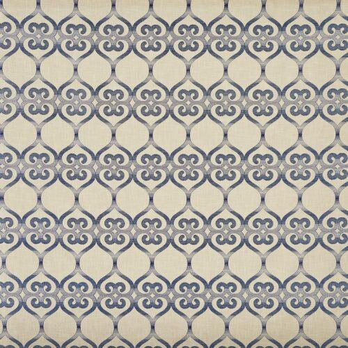 Baltra Indigo fabric
