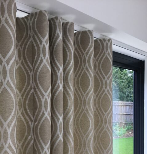 Wave curtains from Window Design Soft Furnishings