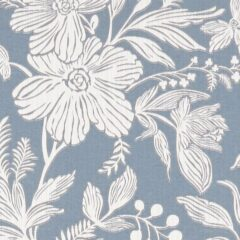 Hollyhurst Denim Curtain Fabric