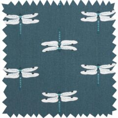 Dragonfly Curtain Fabric