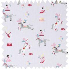 Fairground Ponies Curtain Fabric
