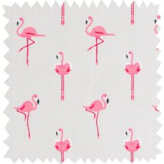 Flamingoes Curtain Fabric