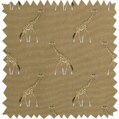 Giraffes Curtain Fabric