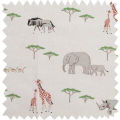 Safari Curtain Fabric