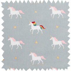 Unicorns Curtain Fabric