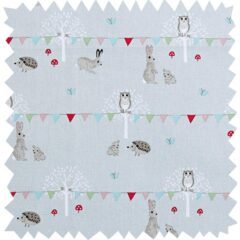 Woodland Party Curtain Fabric
