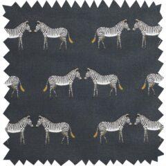 Zebras Curtain Fabric